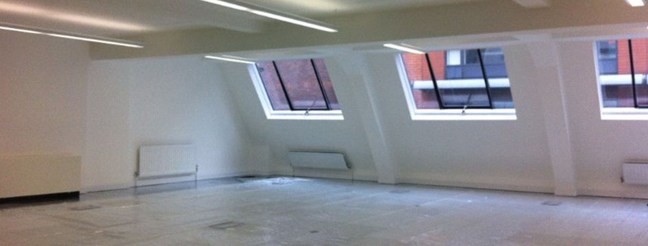 Office Fit Out At Stukeley St London Cheshire